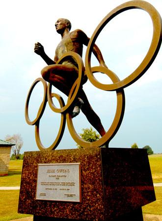 park_statue