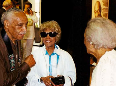 Sylvester Owens (Jesse's brother) and Ruth Owens at the Museum Dedication in Oakville, Alabama.
